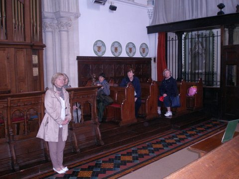 Alice O'Donoghue speaking in the Cathedral