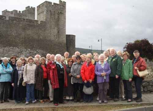 Group at Cahir Castle