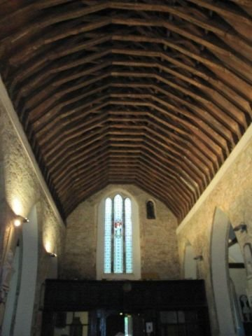 The 12th Century Roof Trusses