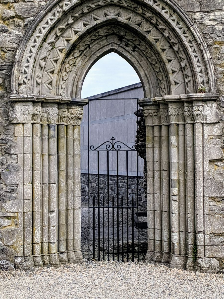 Doorway at Cong Abbey