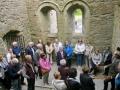 Dr Robert Scott speaking in the Abbey
