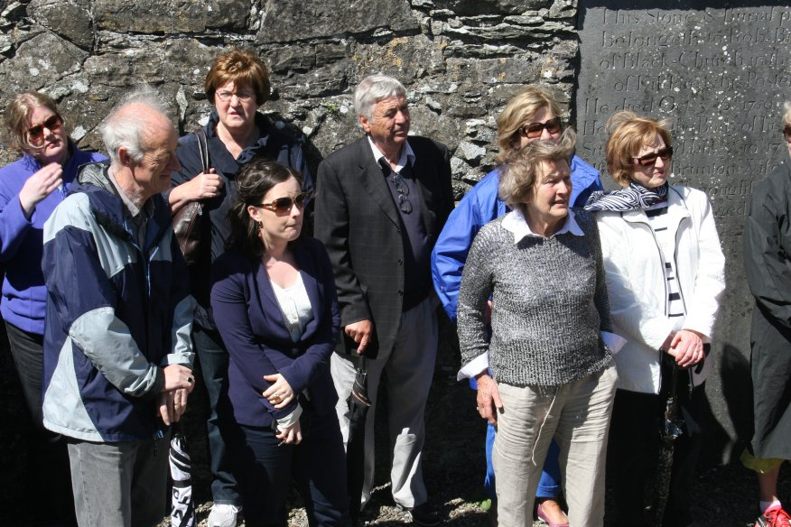 CKAS Visit to Oughterard Round Tower and Cemetery #1
