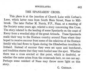 Spanish Cross Naas