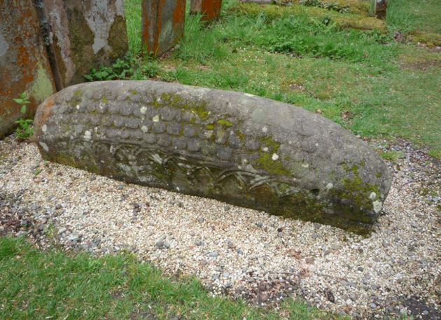 The Hogback Stone at Luss