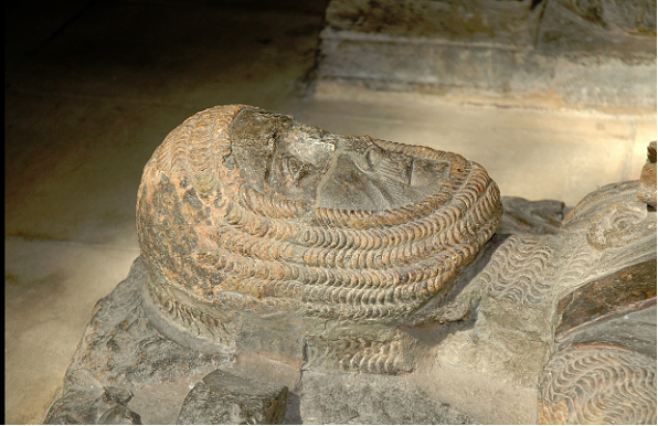 Effigy from William Marshal's Tomb, Temple Church, London