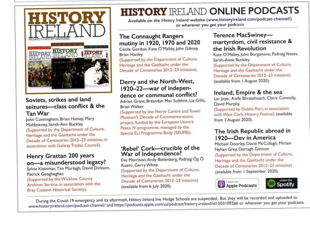 History Ireland podcasts